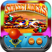 Sunset ride arcade icon