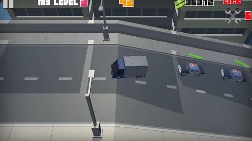 Cars Brazil Police Escape