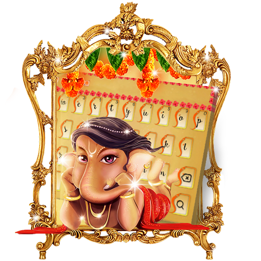 Lord Ganesha Keyboard Theme