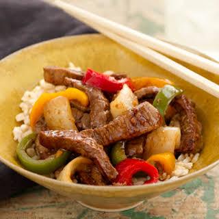 Asian Beef Stir-Fry.