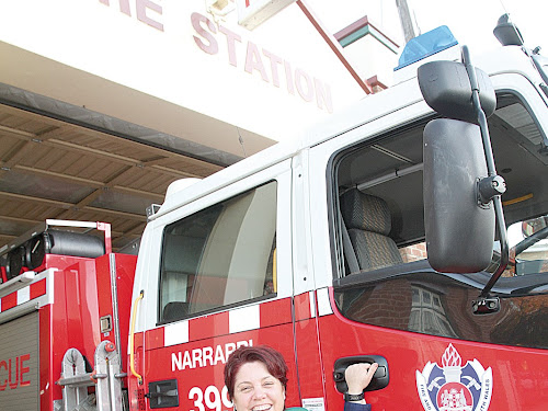 Simone Kerr is a retained firefighter with the Narrabri Fire Brigade. Simone is keen to see more women join the crew.