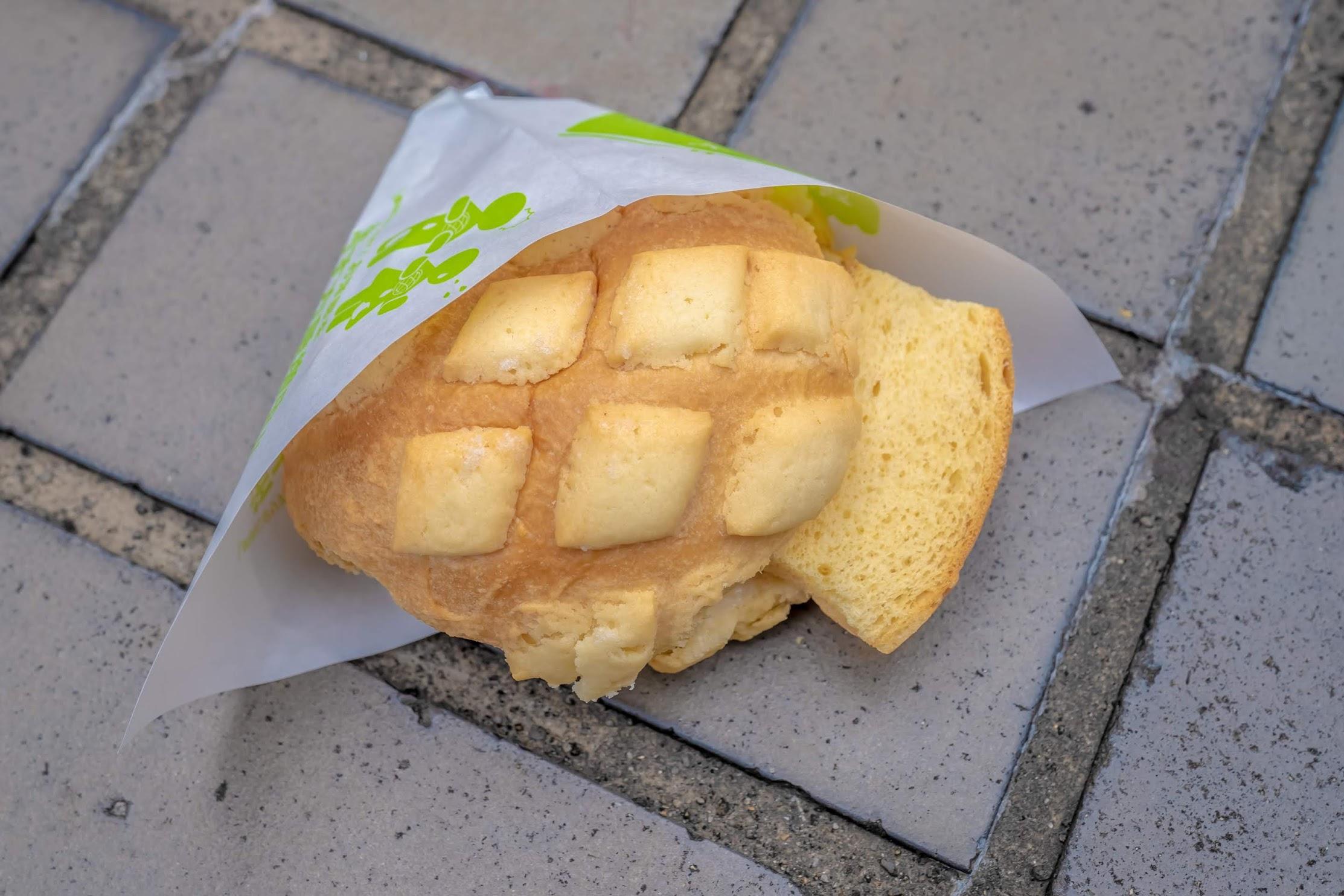 世界で2番目においしい焼きたてメロンパンアイス2