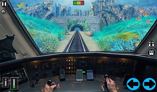 Underwater Bullet Train Simulator : Train Games 2.0.0 screenshots 10