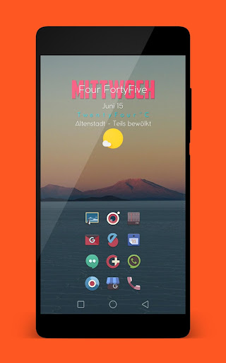 ANTIMO ICON PACK app for Android screenshot