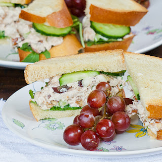 Knockout Chicken Salad Sandwiches.