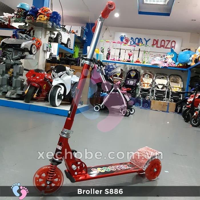 Xe trượt Scooter Broller S886 4