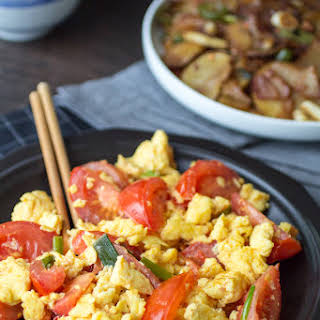 Chinese Stir Fried Tomato and Egg.