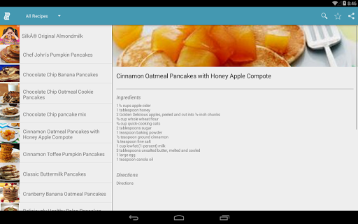 Code Triche Pancake Recipes Free APK MOD screenshots 5