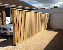 fencing and gate installation service in bradninch