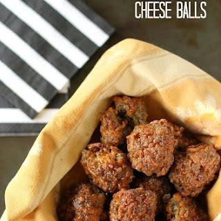 Sausage-Cheese Balls.