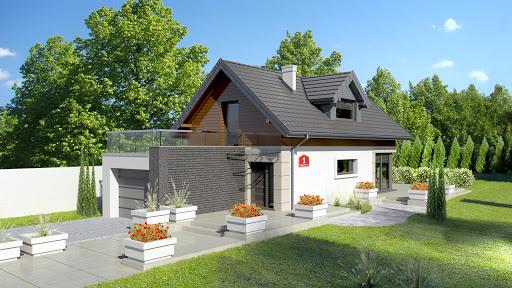projekt Dom przy Migdałowej