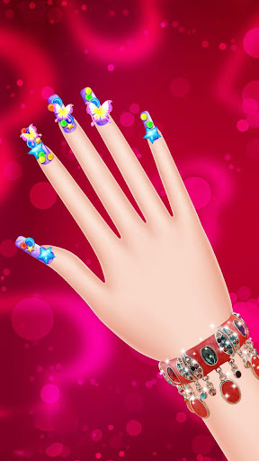 Magic Nail Salon for Girls 1.0 screenshots 1