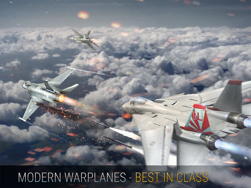 Modern Warplanes: Wargame Shooter PvP Jet Warfare Screenshot 11