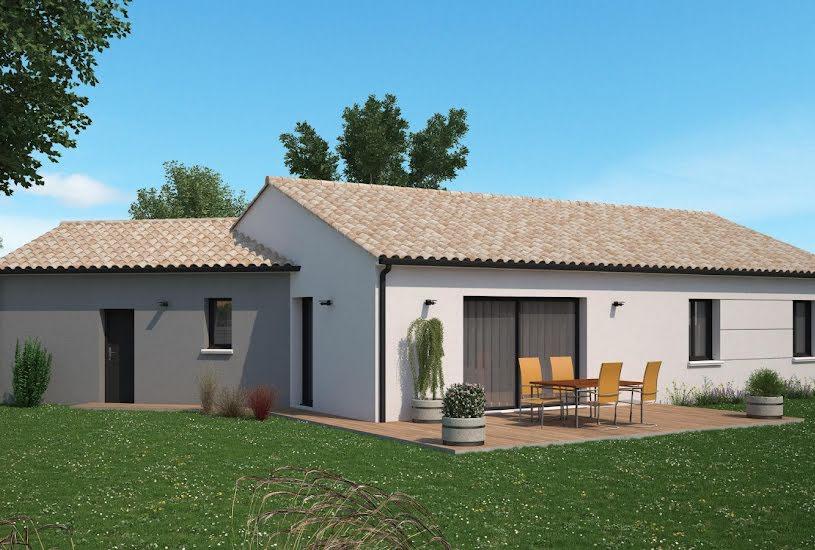 Vente Terrain + Maison - Terrain : 1555m² - Maison : 100m² à Migné-Auxances (86440)