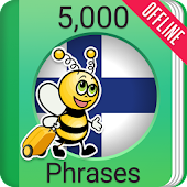 Learn Finnish Phrasebook - 5000 Phrases