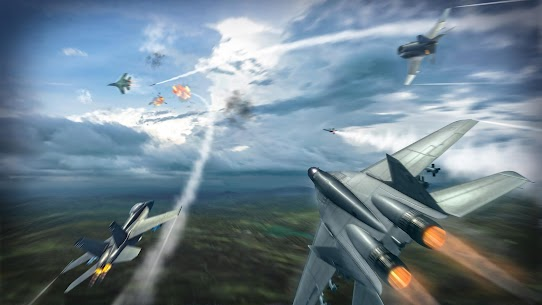 Sky Combat: war planes online simulator PVP Mod Apk Download For Android and Iphone 6
