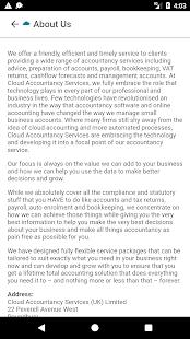 Cloud Accountancy Services - náhled