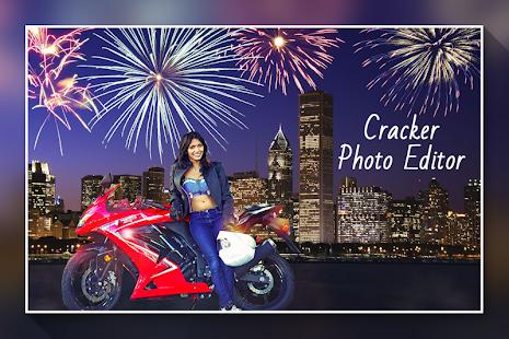 Firework Photo Editor :Diwali Cracker Photo Editor - náhled