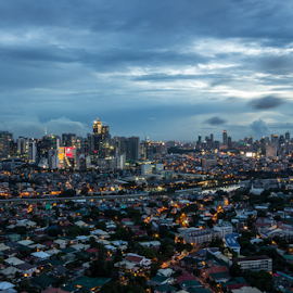 Dusk by Anton Labao - City,  Street & Park  Skylines