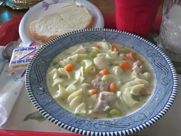 Warm And Comforting Chicken Noodle Soup Recipe