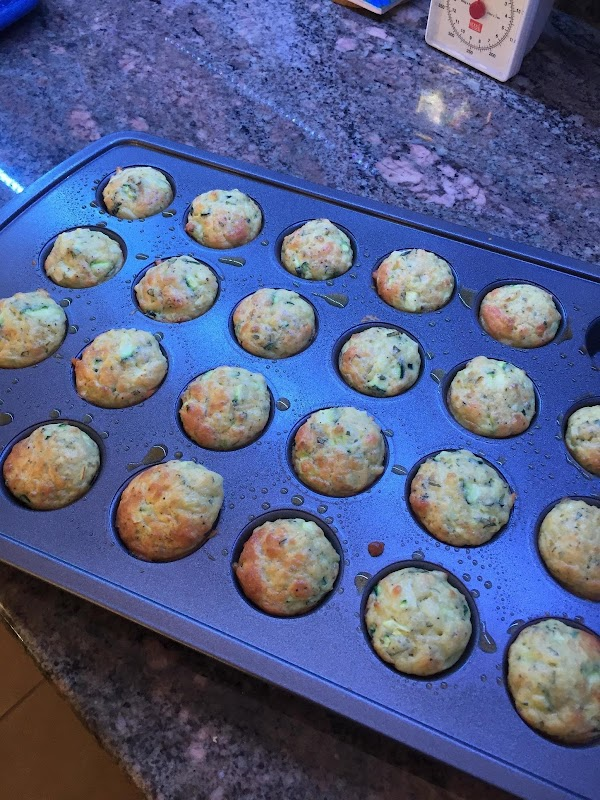 Bake for 15 minutes until bottoms are golden brown.  Remove pan from oven...