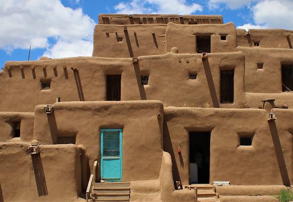 La porta turchese di Taos di ManuelGoWest