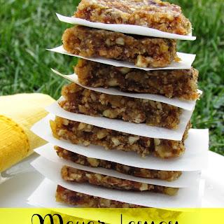 Meyer Lemon Snack Bars
