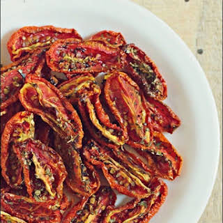 Oven Dried/ Sun Dried Tomatoes (GF, V).