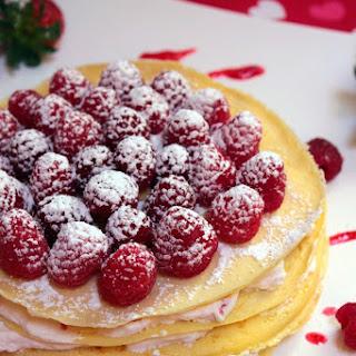 Berry Crepe Cake