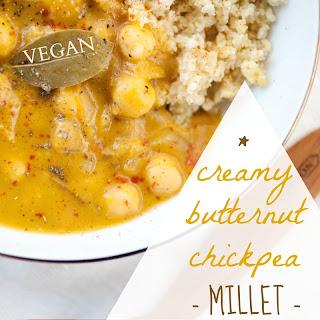 Creamy Butternut Chickpea Millet.
