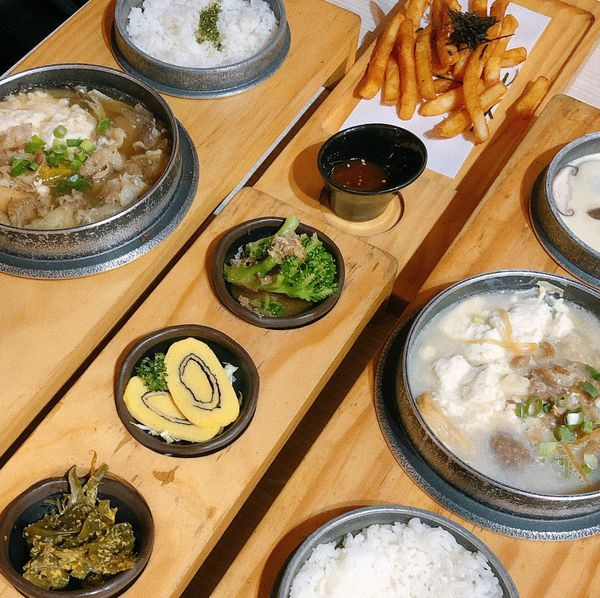 天利食堂- 療癒的圓鐵鍋料理 絹豆腐鍋 新竹金山七街