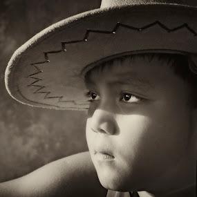 Little Cowboy by Mj Loyola Ganitano - Babies & Children Children Candids