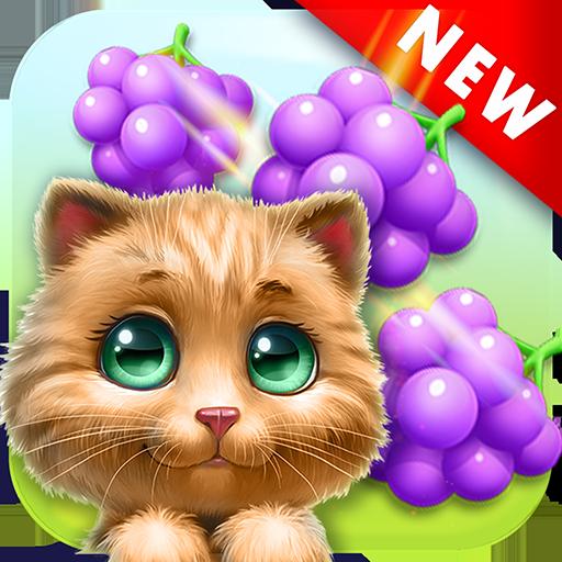 Cat Match Story: Fruit City (game)