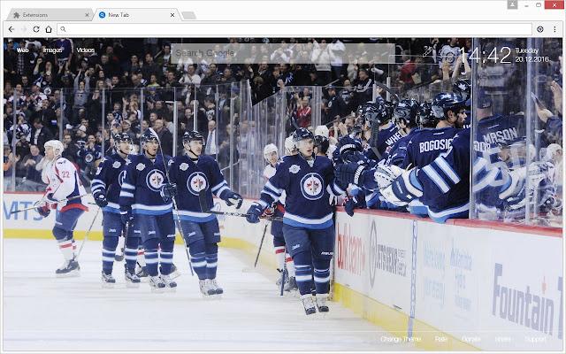 Nhl Winnipeg Jets Hd Wallpapers New Tab Theme