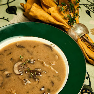 Wild Mushroom Soup.