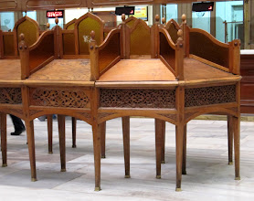 Photo: Day 108 - Beautiful Writing Desk in the Post Office