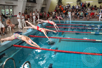 """Photo: Akcja Charytatywna """"Gramy i pływamy dla Krzysia"""" (zawody pływackie) (20.06) - pomagamy naszemu absolwentowi"""