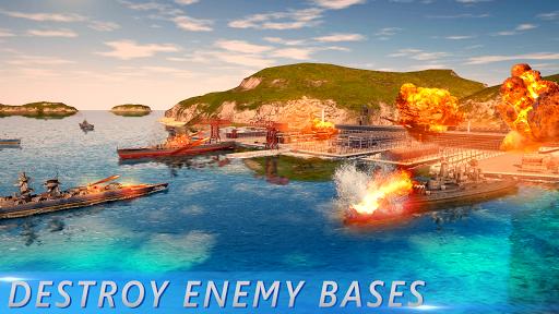 World Warships: Atlantic Battleships Blitz  captures d'écran 2