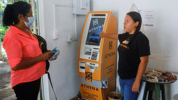 Bitcoin ATM. Source: Reuters