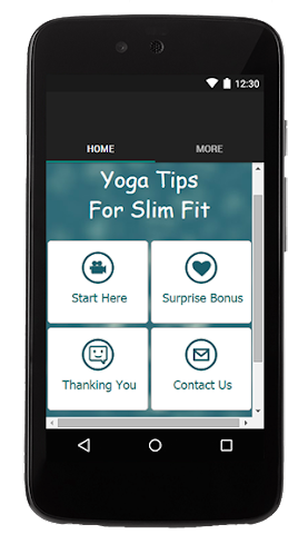 android Yoga Tips For Slim Fit Screenshot 0