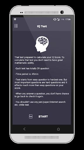 IQ Test 2.4.1 screenshots 1