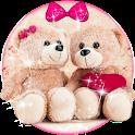 Cute Teddy Bear Keyboard Theme icon