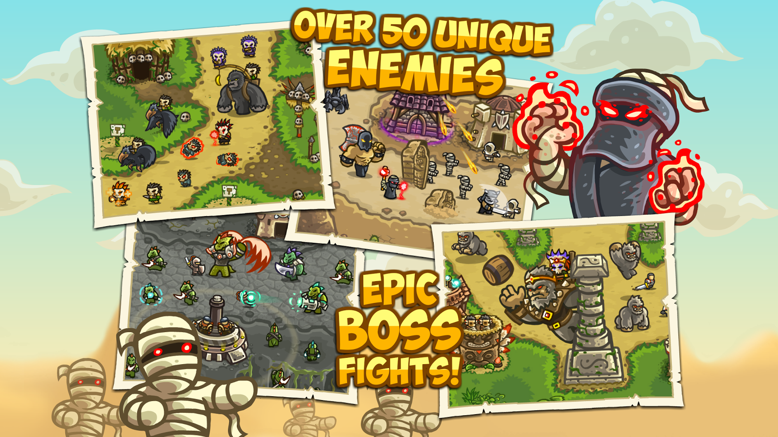 Kingdom Rush Frontiers- screenshot