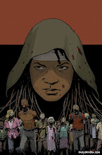 Photo: THE WALKING DEAD #1 (Wizard Variant). 2015. Ink(ed by Joe Rivera) on bristol board with digital color, 11 × 17″.
