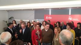 Un momento del acto de presentación de Adriana Valverde como candidata a la alcaldía.