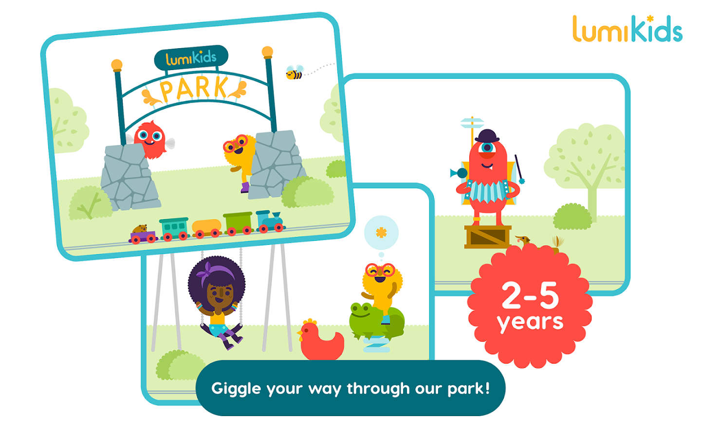 LumiKids Park by Lumosity- screenshot