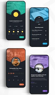 AestheticHome for KLWP Screenshot