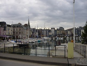 Photo: Looking now towards Le Vieux Bassin (The Old Dock), and a central area of the town.
