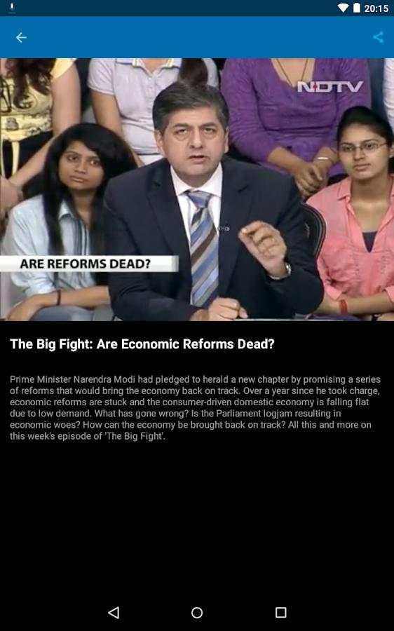NDTV News - India- screenshot