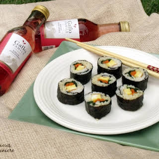 Kimbap (Korean 'Sushi').